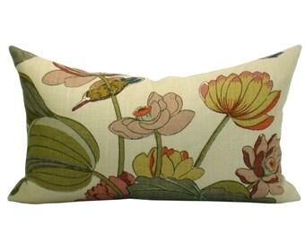 Nympheus lumbar pillow cover in Biscuit