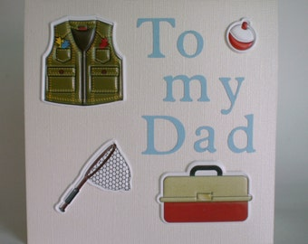 Fathers Day Card - Fishing