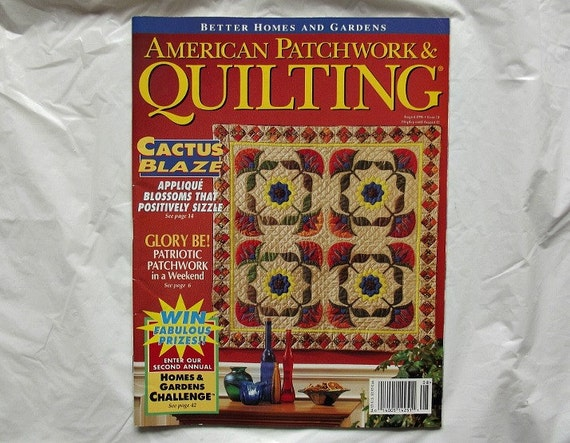 American Patchwork Quilting Better Homes And Gardens