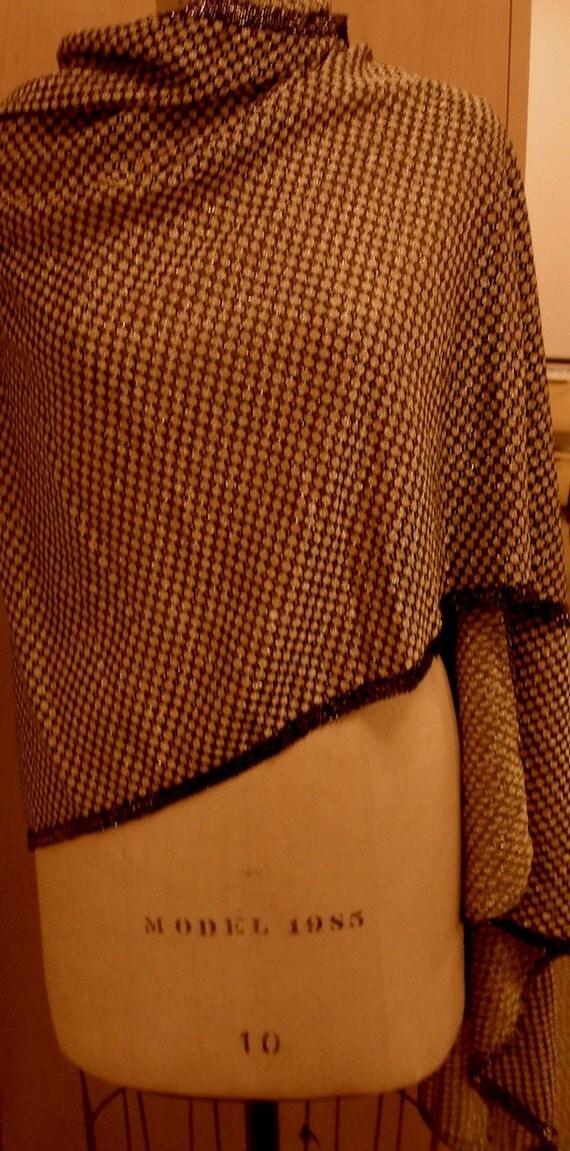 Glam metallic wrap