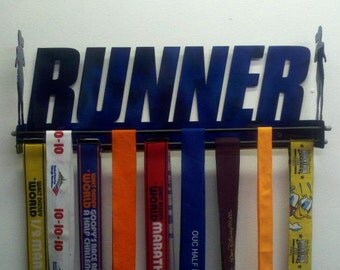 Running Medal Holder | 3-D Runner Medal Display