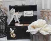 Suitcase Wedding Cardholder / Train Case Wedding Card Holder