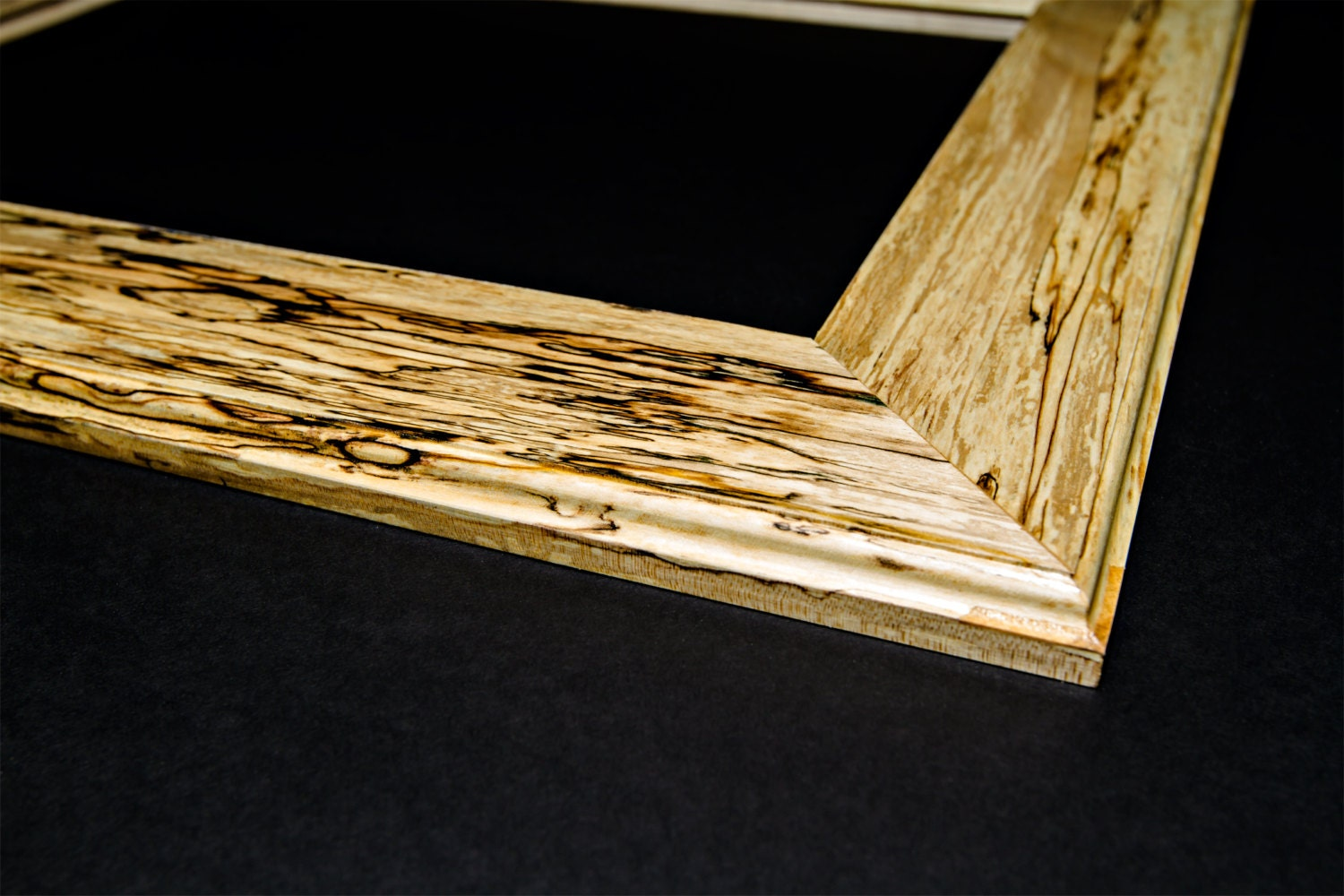 Vintage hancrafted reclaimed spalted maple picture frames hardwood sold by dovetailartistry jeuxipadfo Image collections