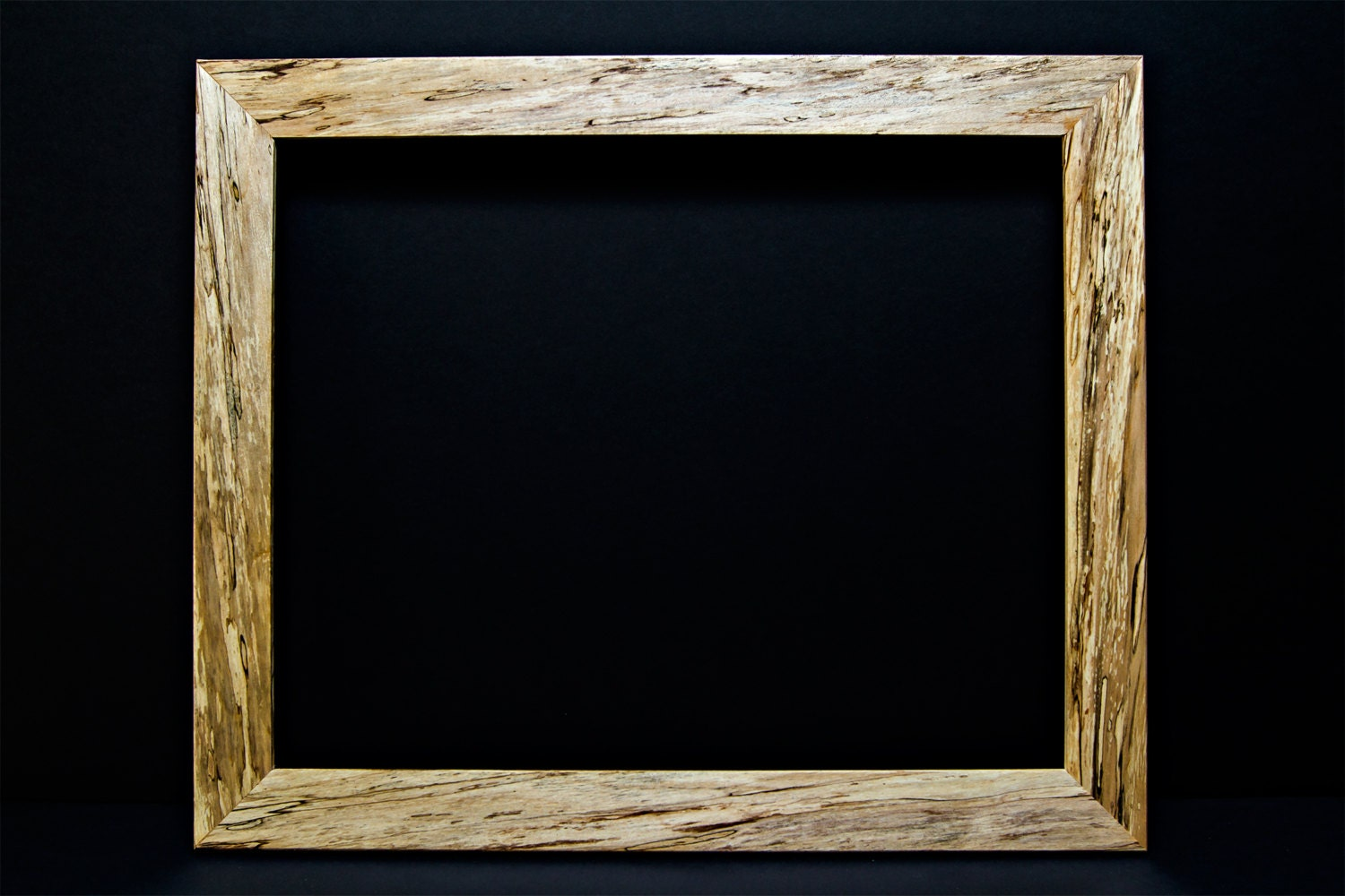 Vintage hancrafted reclaimed spalted maple picture frames hardwood 12000 jeuxipadfo Image collections