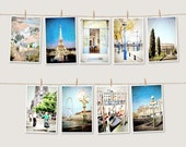 Western Europe Photography Print Set 4x6 - Natural Muted Pastels