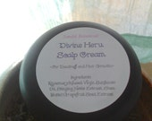 New Nettle Scalp Cream with Stinging Nettle Extract - Shea Butter Base - Rosemary - Divine Energy of Heru