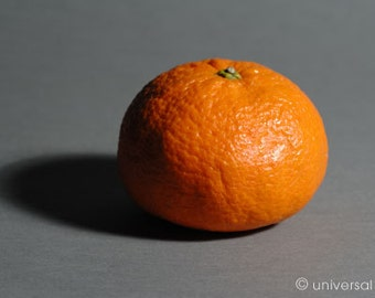 Mandarine 1  - original photo Artcard by Mario Strack