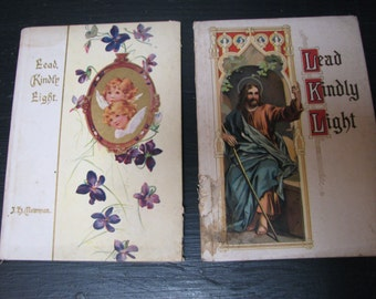 Pair of Victorian Booklets Lead Kindly Light