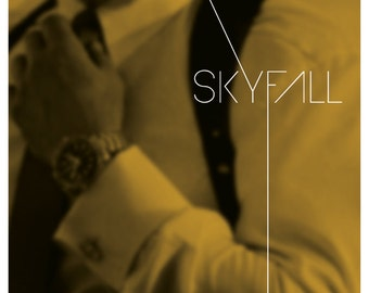 Skyfall - James Bond Film Poster