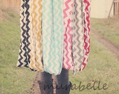 SALE Chevron Infinity Loop Scarf your choice of color