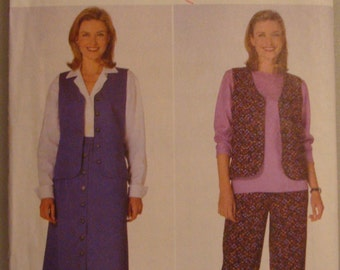 OOP  Butterick Womens Sewing Pattern 5240  size  14-16 -18 Uncut