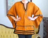 African Style Shirt Dashiki Big Sleeve with Beading