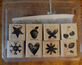 All Through the Year - Retired - Stampin Up Stamp Set