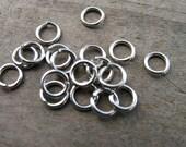 200 5mm Stainless Steel Jump Rings Open 20 gauge