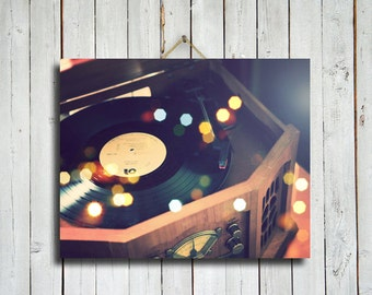 Put Your Records On - Record player photography - Record Player decor - Vinyl record photography - Record Player art