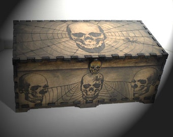 Lord Mock's Skull and Web Box
