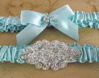 Wedding Garter Set / Bridal Garter/ CRYSTAL WEDDING GARTER/Custom Garter / Wedding Garter Belt