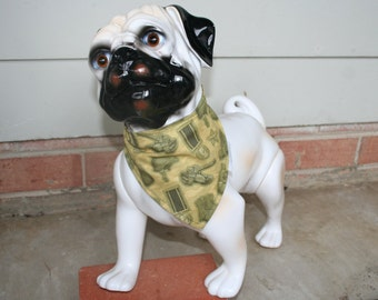The Bohemian Bow Wow 'The Military' reversible dog bandana small