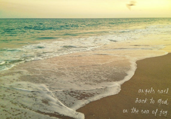 Items Similar To Beach Photography -Beach Quote