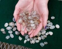 Over 100 carats rutilated quartz cabochon gem lot