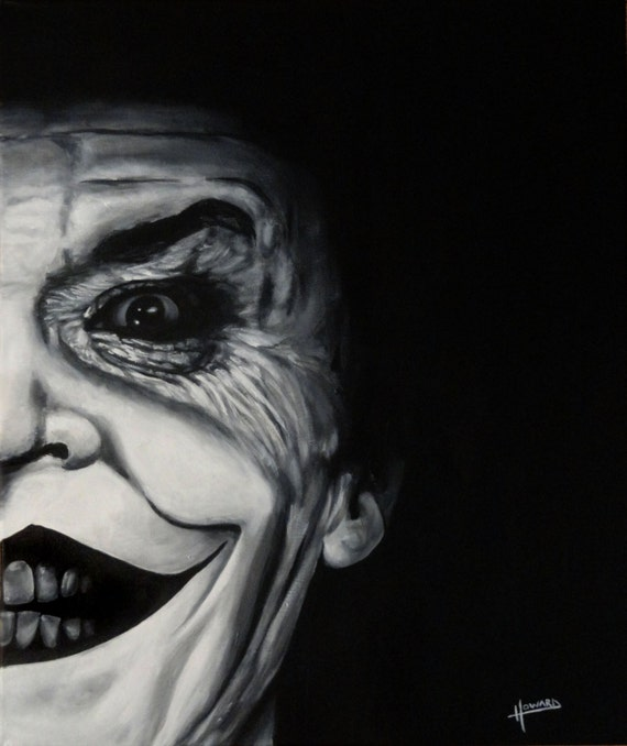 Joker Jack Nicholson Art Print Reproduction 10 X