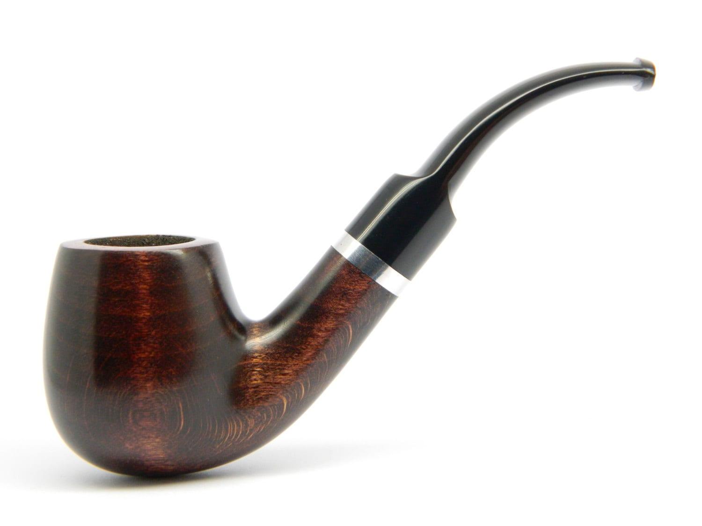 Wooden tobacco smoking pipe sherlock holmes