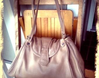 BIG BABE   ///   Large Leather Bag