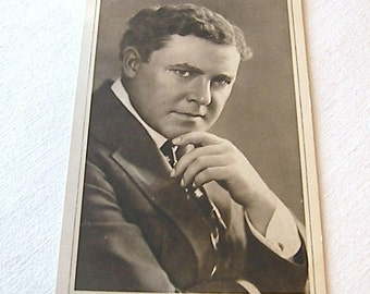 William Farnum, Black and White Postcard, Old Black and White Postcard No 9