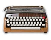 Vintage Brother Typewriter Prestige Tabulator