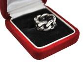 Sterling Braided Ring