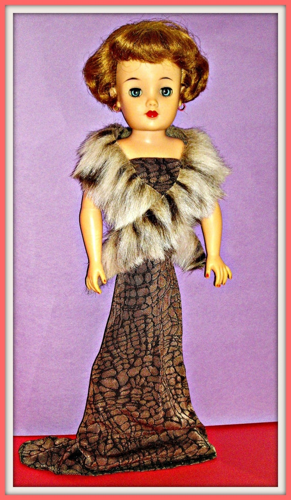 18 Inch Miss Revlon Doll Clothes, Handmade 2 Piece Outfit for Vintage Miss Revlon Doll