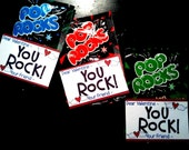 15% Off - Valentine Fill In Blank Cards for Boys and Girls - Pop Rocks or Rock Candy - Tags - Digital File