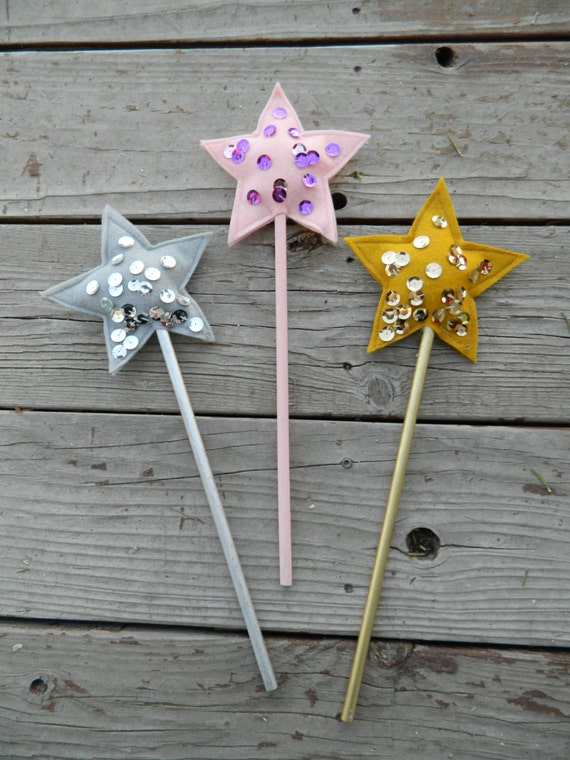 Items similar to princess wand star wand fairy wand for Birthday wand