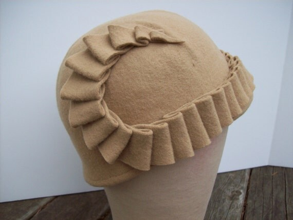 Golden tan riding hat