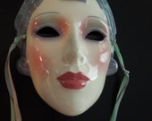 Vintage Clay Art Mask