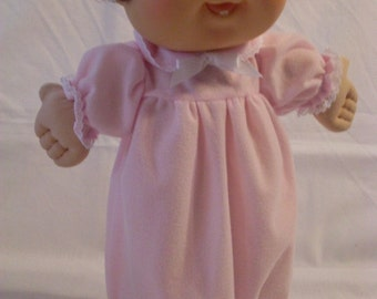 """14"""" Baby Cabbage Patch Pink Nightgown"""
