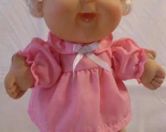 """14"""" Baby Cabbage Patch Pink Dress Set"""