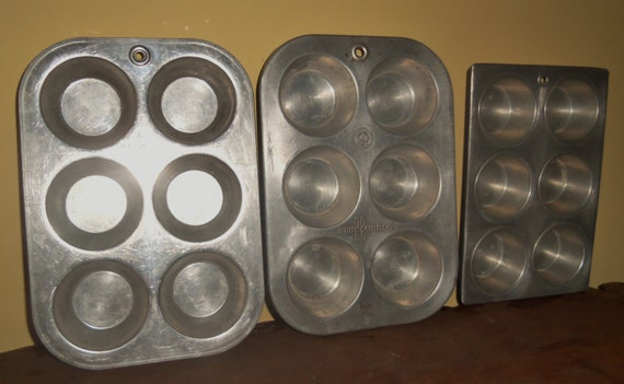 Industrial Set of Muffin Pans