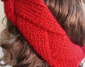 Earwarmer -  Red Headband