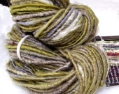 Cedar- handspun art yarn 100 yards