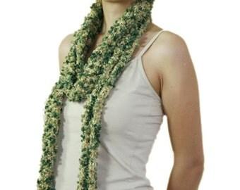 Green Scarf - Spring Fall Winter Fashion - Women Teens Accessories - Scarflette