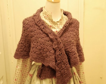MADE TO ORDER Afternoon Tea Shawl
