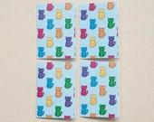 4 Cat Mini-Cards