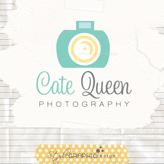 Cute Photography Logo Cute Photography Logo Cute