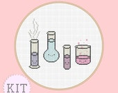 KIT Cross Stitch Cute Chemistry