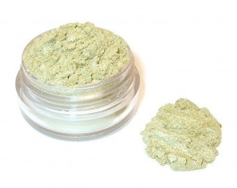 CHINA JADE - Mineral Eye Shadow -  Golden green  3 grams