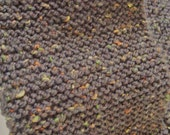 Brown Tween Knitted  Men's Scarf