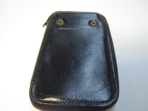Vintage Key Case Prince Gardner Leather Key Case zipper