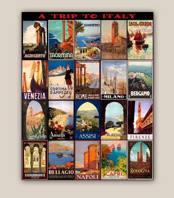 collections travel tourism posters