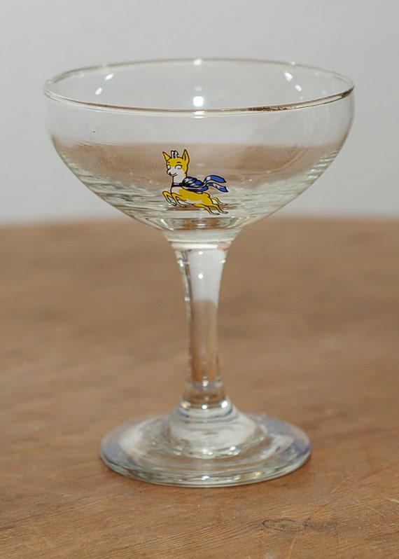 babycham glass
